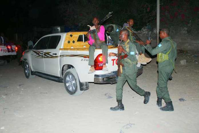 Security Forces Conduct Security Operation in Mogadishu, 400
