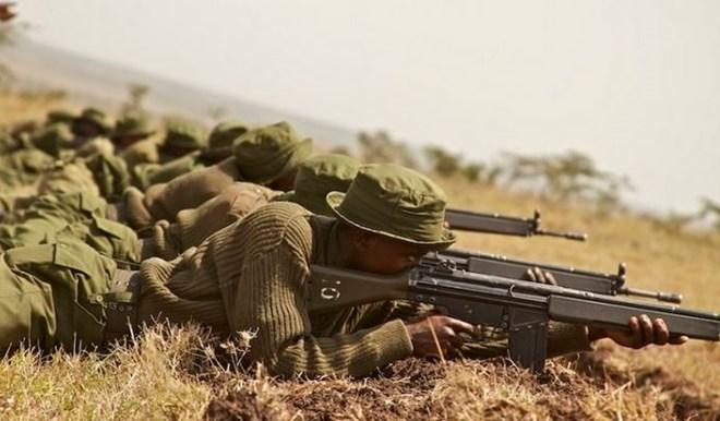Image result for National Police reservists kenya
