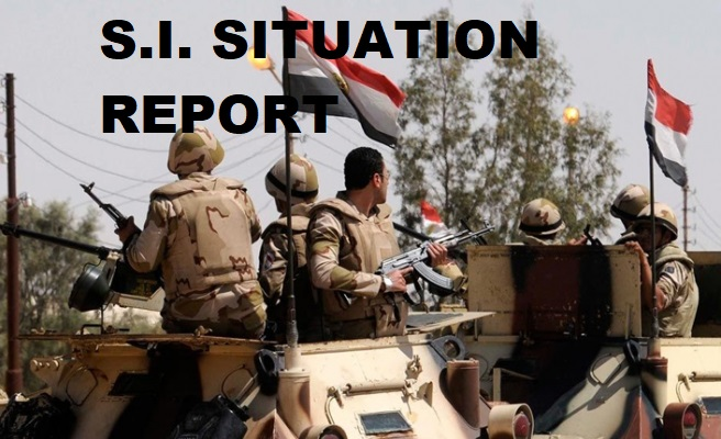 15 ISIS Militants Killed By Egyptian Forces Near Al-Arish, North