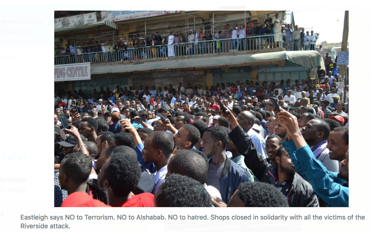 Muslims Defiance Against Terrorism, Protest Dusit D2 Attack