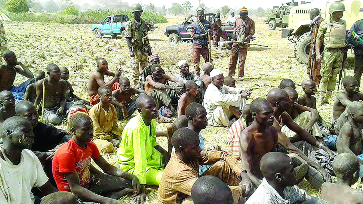 Image result for Army Hands over 25 Repentant Boko Haram to Borno Govt for Rehabilitation